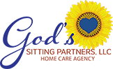 God's Sitting Partners - Logo Full Color w Home Care Agency - Website 100px